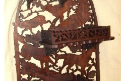 Carved Wood Hanging Collectible-After-1